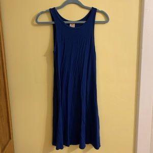 Sleeveless T-Shirt Midi Dress